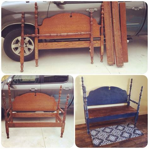 bench made from bed 46 best images about benches out of old headboards on