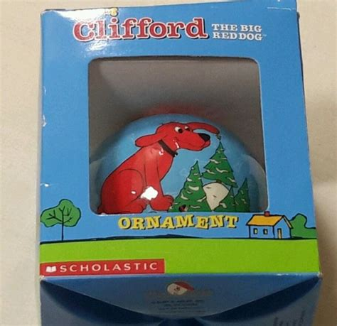 clifford the big ornament 21 best bridwell norman and clifford products images on