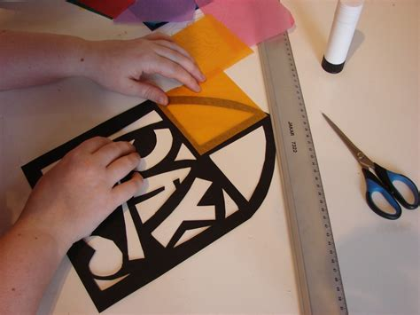 How To Make A Paper Stained Glass Window - make a stained glass window archaeologists club