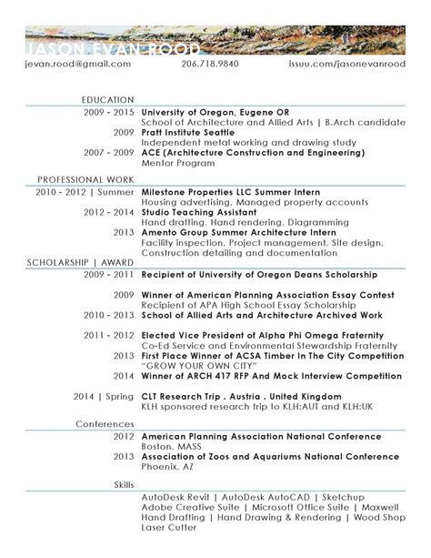 Oregon Quarterly Essay Contest 2011 by Resume 2014 By Jason Evan Rood Issuu