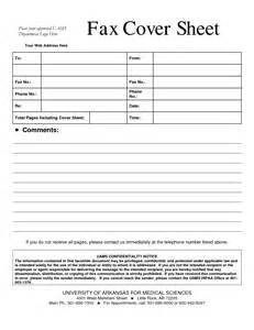 Fax Cover Letter Sles by Cover Fax Resume Sheet