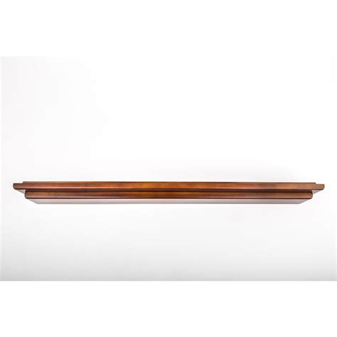 Mahogany Floating Shelf by 48 In L X 5 In D Floating Mahogany Crown Molding Decorative Ledge Shelf 454 17 The Home Depot