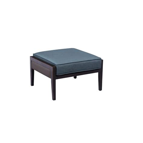 patio ottoman home decorators collection sunset point brown patio