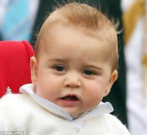 prince george eye color prince george and the photos that show he s the image of