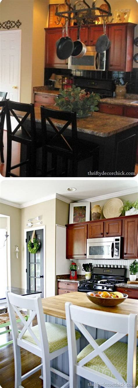 25 before and after budget friendly kitchen makeover