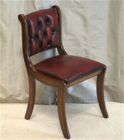 Small Leather Desk Chair Regency Leather Desk Chair Ref 6001