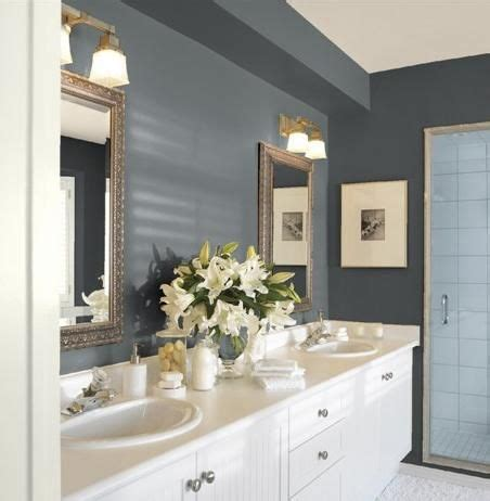 guest bathroom paint colors guest bathroom paint colors gunmetal walls cloud white