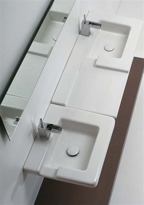 Contemporary Bathroom Sinks From Gsg Ceramic The Cool Contemporary Bathroom Sinks Design