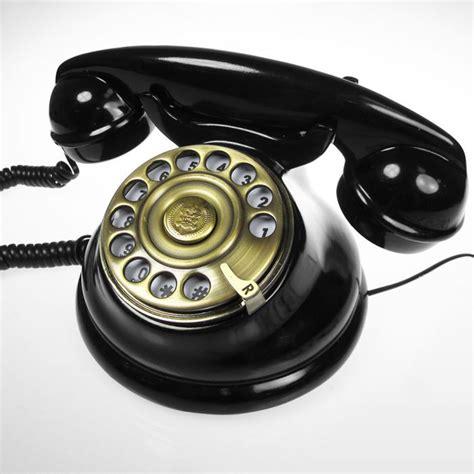 telefon retro retro telefon klassisches telefonieren im edlen design
