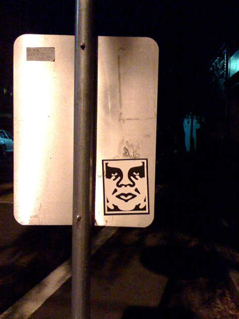 Shepard Fairey Obama Sticker