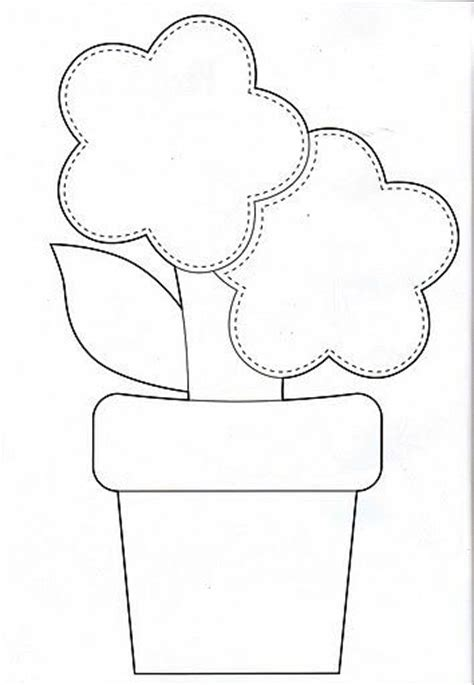 pattern of flower pot 195 best images about sem agulha on pinterest hand