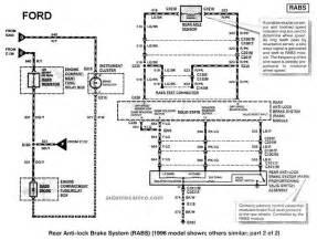 Anti Lock Brake System Que Significa Diagramas Esquemas Electricos Ford Ranger
