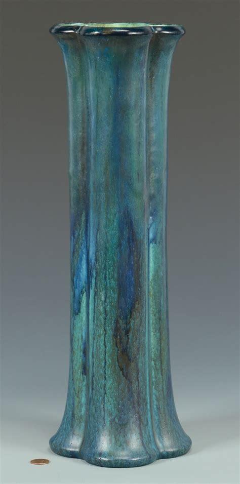 Teal Vase Lot 3832461 Large Rookwood Vase Teal Glaze