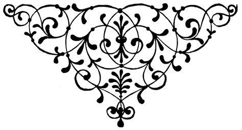 clipart etc floral motif clipart etc