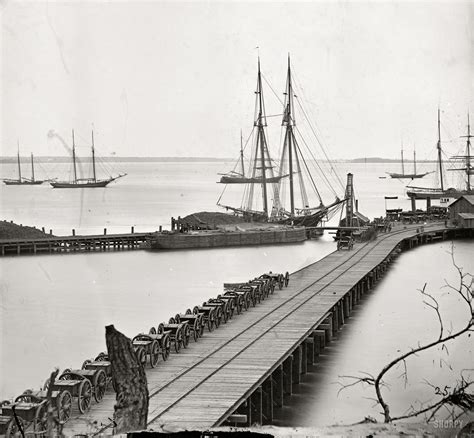 boat supply store alexandria va shorpy historic picture archive city point wharf 1865
