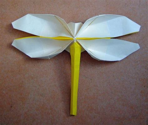 tutorial origami dragonfly origami projects pinterest beautiful lucciole e