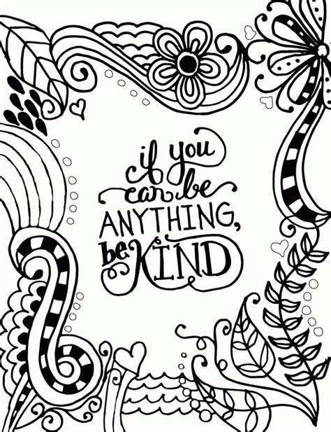 coloring pages kindness kindness coloring pages to print coloring home
