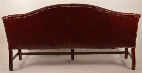 chippendale sofa for sale burgundy leather chippendale camelback sofa for sale at