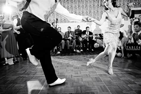 swing dancin swing dancing wedding image table4 weddings