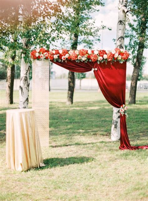 40 Outdoor Fall Wedding Arch and Altar Ideas ? Page 2 ? Hi