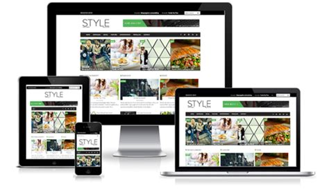 blogger templates for sale sale style magazine blogger template creative market