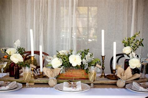 rustic wedding table ideas diy vintage wedding ideas for summer and