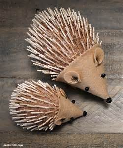 diy hedgehog for kids to craft lia griffith