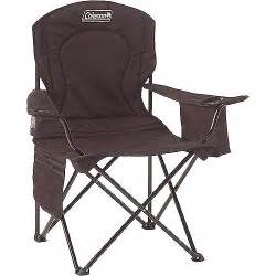 coleman oversized chair with cooler pouch walmart