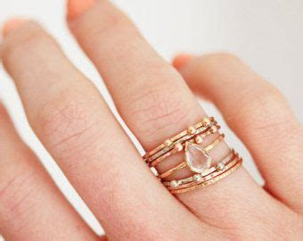 12 best images about stackable rings on gold