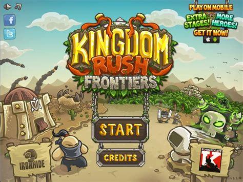 jocuri cu kingdom rush frontiers hacked full version kingdom rush 2 frontiers hacked cheats hacked online