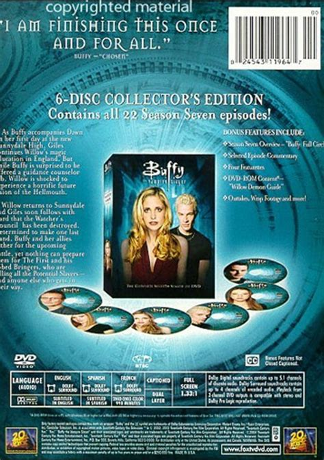 land of the free mystical slayers volume 1 books buffy the slayer season seven dvd 2003 dvd empire