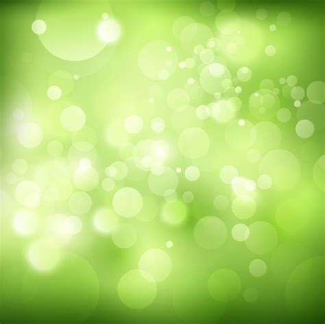 bokeh green wallpaper green bokeh vector illustration background free vector