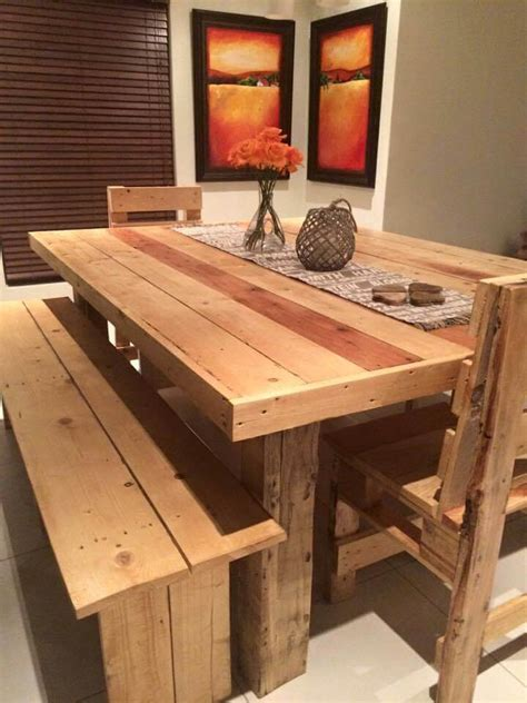 pallet dining table diy 125 awesome diy pallet furniture ideas page 5 of 12