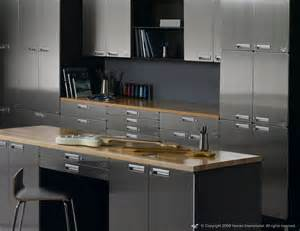Steel Kitchen Cabinets Reasons Why Stainless Steel Kitchen Cabinets My Kitchen Interior Mykitcheninterior