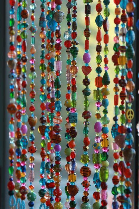 glasperlen vorhang die besten 25 hippie vorh 228 nge ideen auf