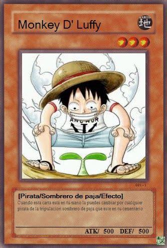 Tas Ransel Anime Onepiece Monkey D Luffy cartas anime tipo yu gi oh monkey d luffy cartas