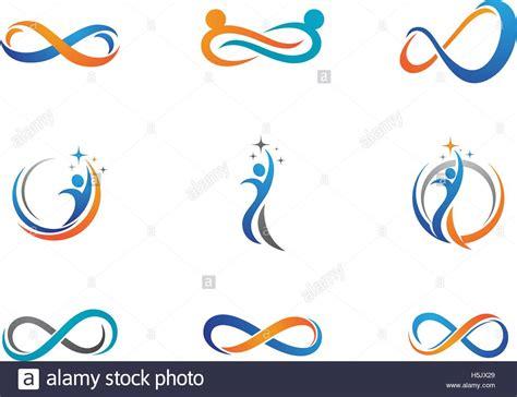 tutorial vector infinite design infinity design infinity logo vector logo template stock