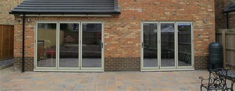 aluminium bifold patio doors bi fold doors oxford two leaf doors doors a c windows