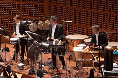 percussion section of orchestra american mavericks