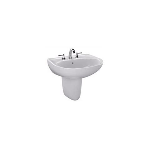 Toto Supreme 23 In Wall Mount Bathroom Sink Combo With Toto Bathroom Sink Faucets