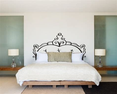 custom headboards for sale headboard doodle bed frame bedpost wall decal custom vinyl stickers for rooms