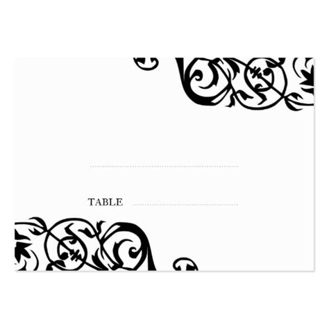 classyescort card templates wedding seating card custom print pack of