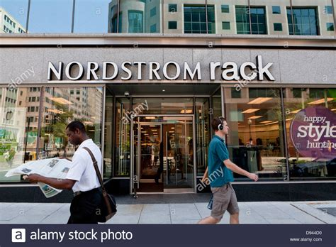 nordstrom rack store washington dc stock photo royalty