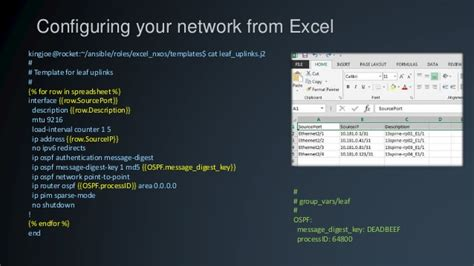 Programmability And Automation In Data Center Networks A Talk On Hot Ansible Template Exle
