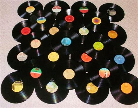 Vinyl Record Decorations by 1970 S Rock Lot Of 25 Vinyl Record Albums For
