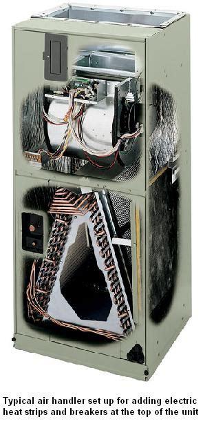 electric heat strips  air handler