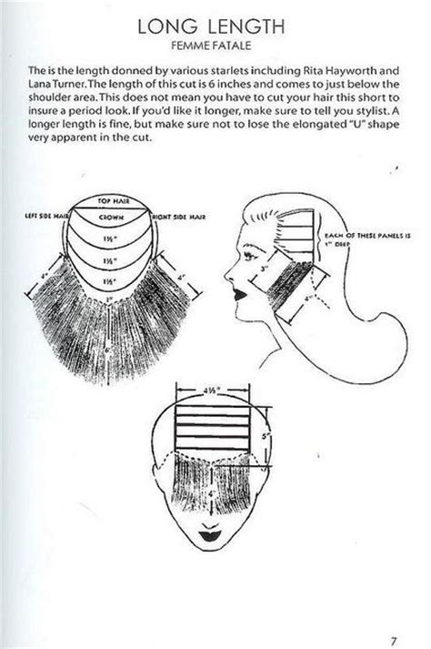 farrah haircut instructions and diagram 1000 images about hair on pinterest short hair styles