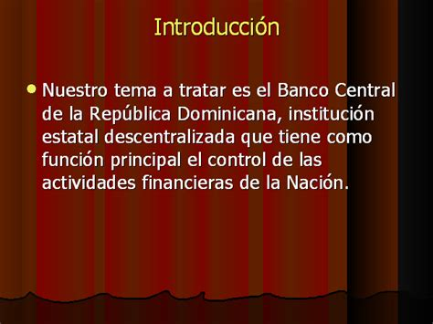 banco central de la republica dominicana nomina del banco central de la republica dominicana monografias com