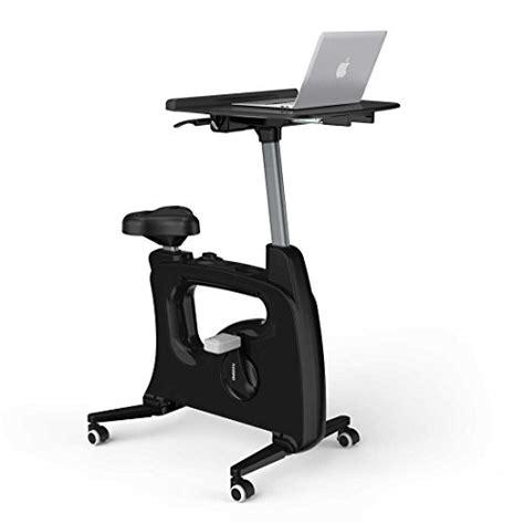 Stationary Bike For Desk by Flexispot Home Office Standing Desk Exercise Bike Height