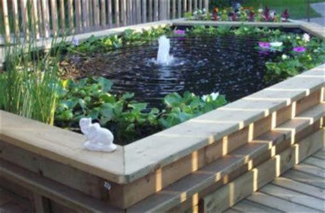 Comment Fabriquer Un Bassin Hors Sol fabriquer un bassin hors sol en bois
